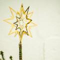 Billede af juletræstop med stjerne
