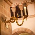 Billede af lys i Ribe Domkirke